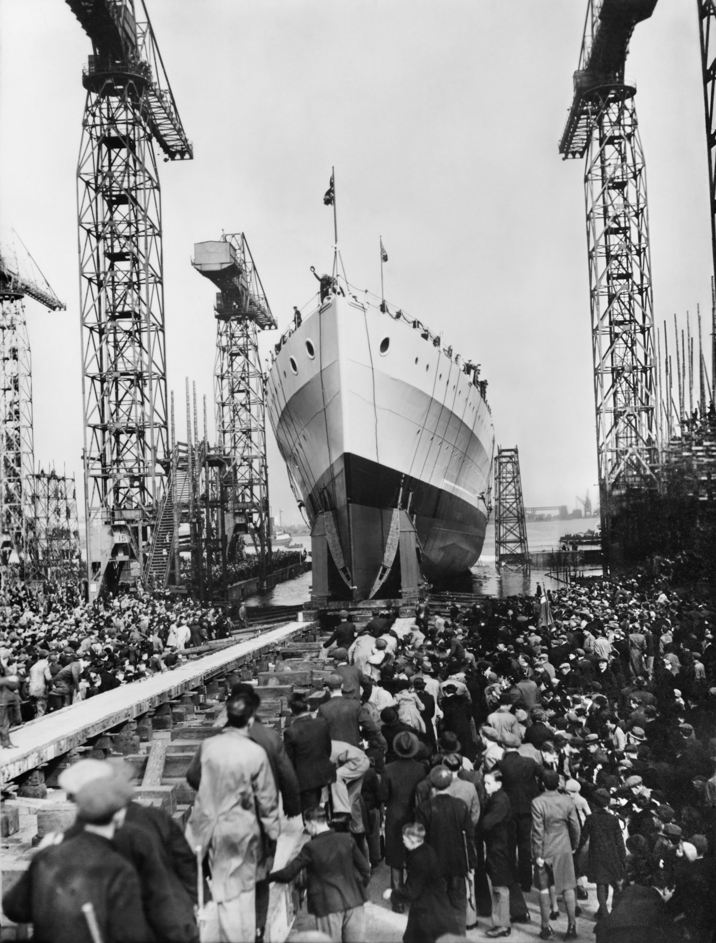 HMS Belfast launched